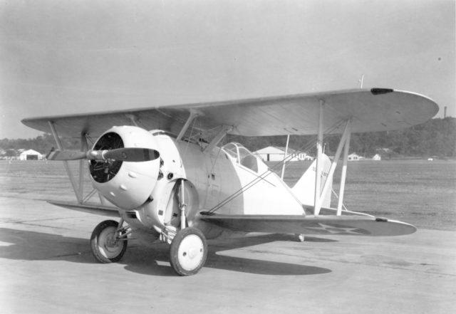 Grumman XF2F-1 9362 NAS Anacostia 20Oct33 NARA 80-G-415166 [via RJF]