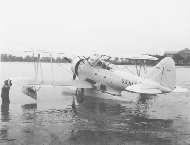 Grumman XJF-1 9218 NAS Anacostia 26May33 80-G-461858
