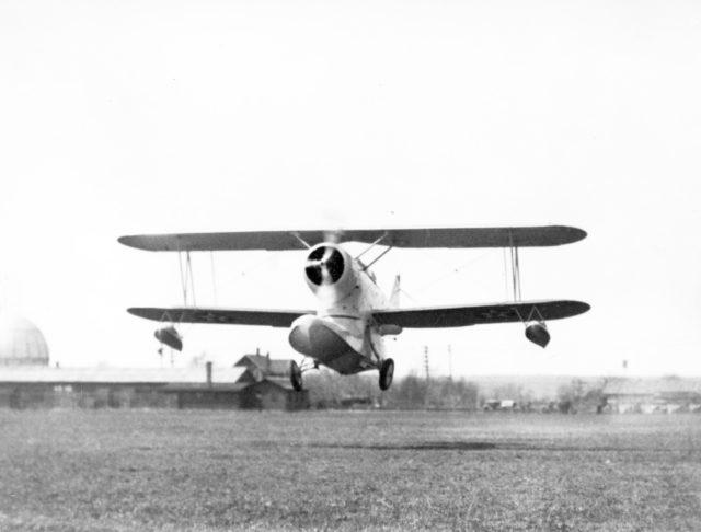 Grumman XJF-1 Farmingdale 24Apr33 mfr [GHC via RJF]