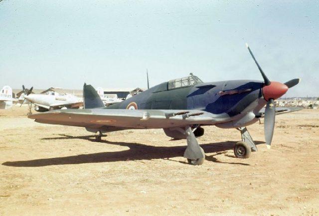 Hawker Hurrican IIC, French AF, c45