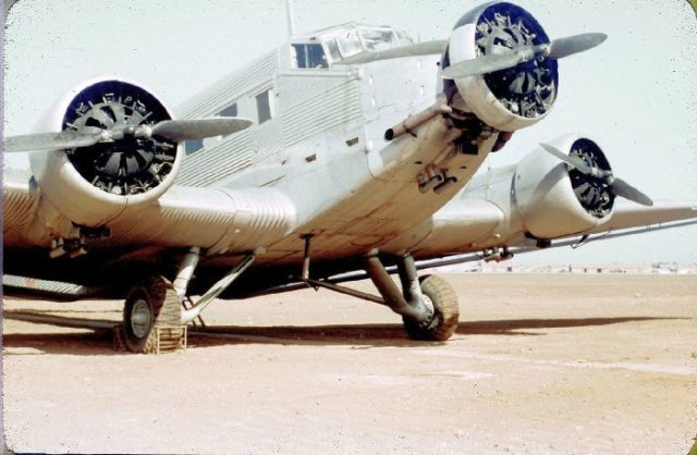 Junkers AAC-1, 038, French AF a