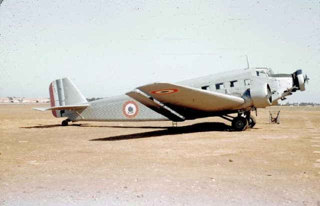Junkers AAC-1, 038, French AF b