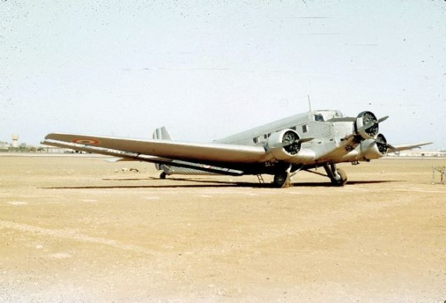 Junkers AAC-1, 038, French AF c
