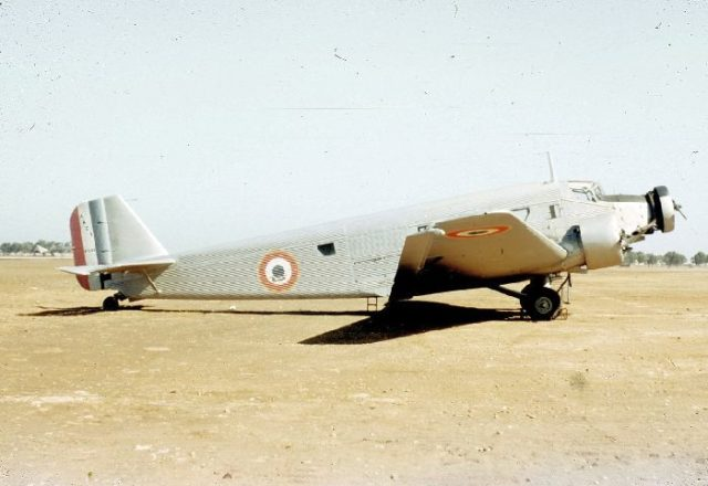 Junkers AAC-1, 038, French AF d