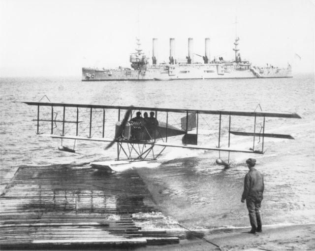 Loughead Model G San Francisco Bay 1913 [Lockheed via RJF