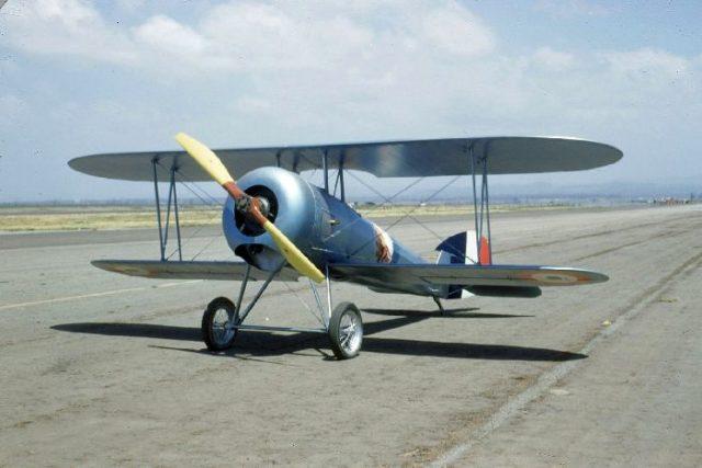 Nieuport 28, N4728V, Tallmantz Museum, Orange County Airport, Jack Canary 1
