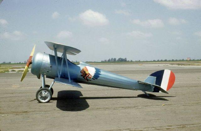 Nieuport 28, N4728V, Tallmantz Museum, Orange County Airport, Jack Canary 2