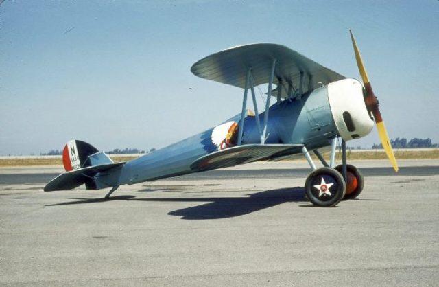 Nieuport 28, N4728V, Tallmantz Museum, Orange County Airport, Jack Canary 5