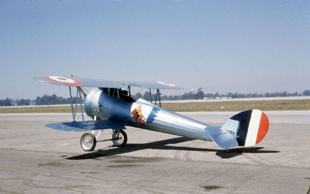 Nieuport 28, N4728V, Tallmantz Museum, Orange County Airport, Jack Canary 6