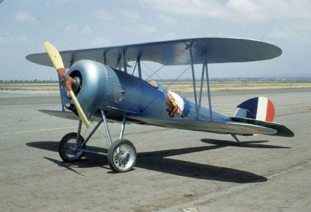 Nieuport 28, N4728V, Tallmantz Museum, Orange County Airport, Jack Canary 8