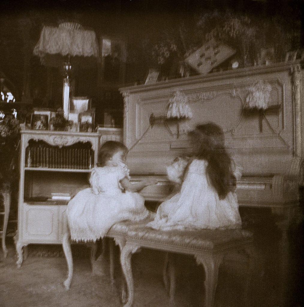 Grand Duchesses Tatiana and Olga . 1898.
