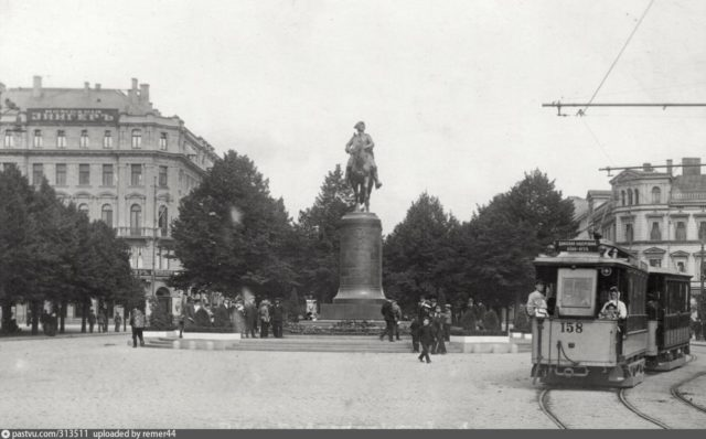 Monument to Peter the Great in Riga, 1910-1915
