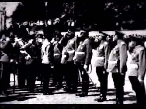 Newsreel: The arrival of Emperor Nicholas II in Riga [1910]