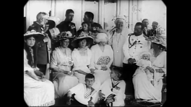 1906-1914: Home Movies of the Romanov Family (speed corrected w/ added sound)