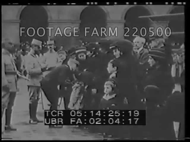 1914 Russian Hospital & Wounded; Home Front 220500-13 | Footage Farm