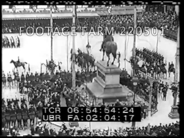 1914 - Russian Riding Competition; Saint Augustine Fire 220501-11   Footage Farm