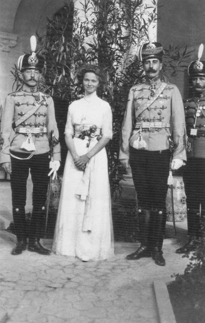 Birthday of Grand Duchess Olga Nikolaevna - the first daughter of Emperor Nicholas II.