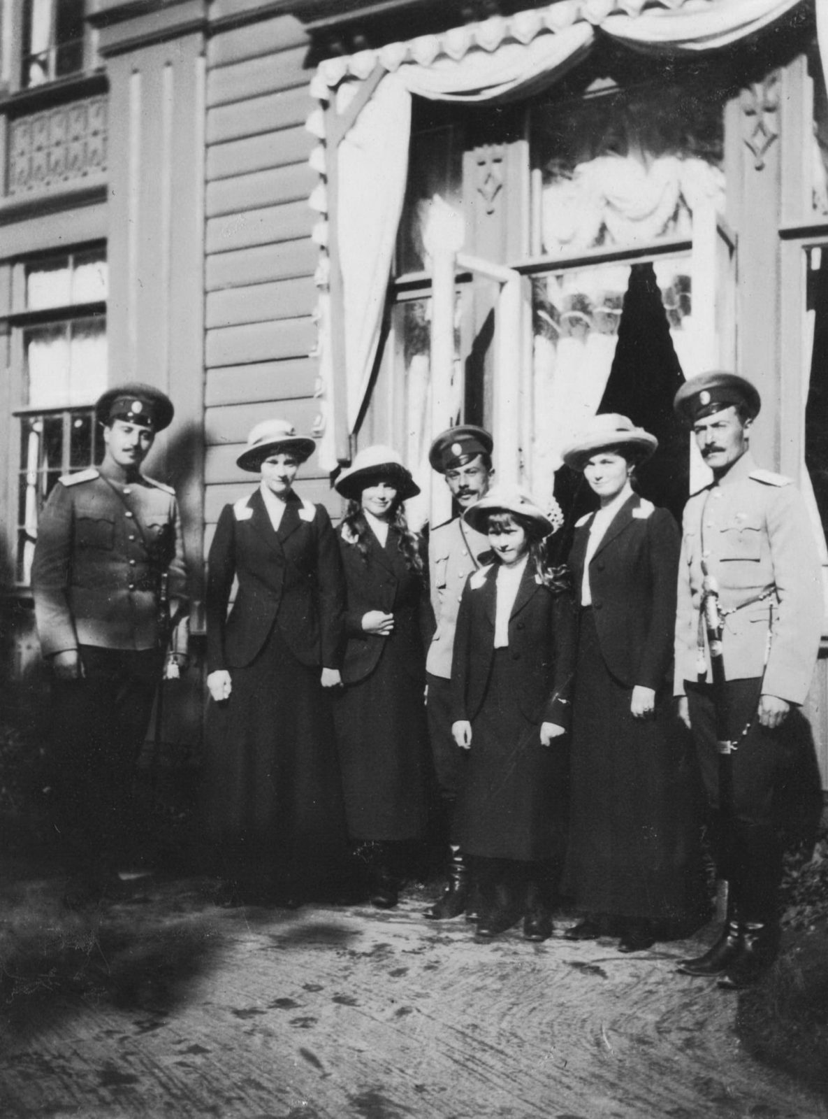 Daughters of Nicholas II Grand Princess Tatiana, Maria, Anastasia and Olga.