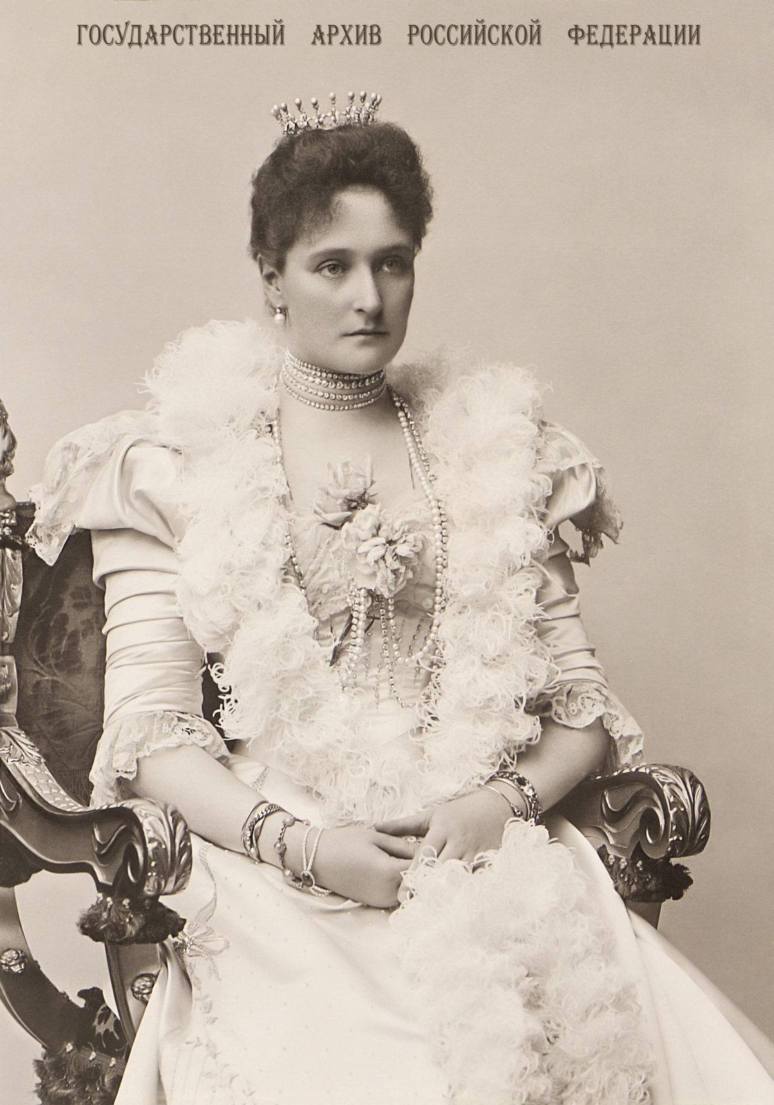 Empress Alexandra Feodorovna . 1898.