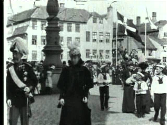 EMPRESS DAGMAR'S ARRIVAL IN ELSINORE