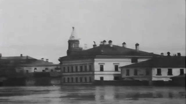 Flooding in Moscow. Newsreel. 1908
