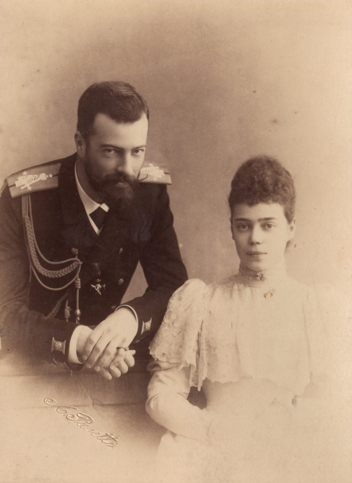 Grand Duchess Ksenia Alexandrovna and Grand Duke Alexander Mikhailovich.