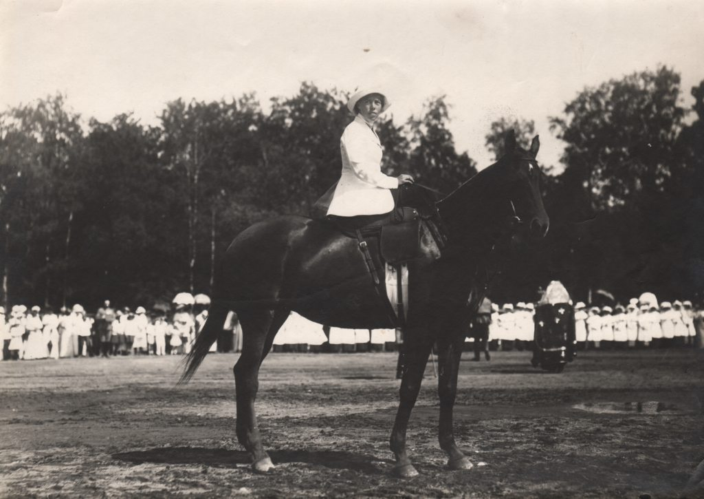 Grand Duchess Olga Alexandrovna, daughter of Emperor Alexander III.