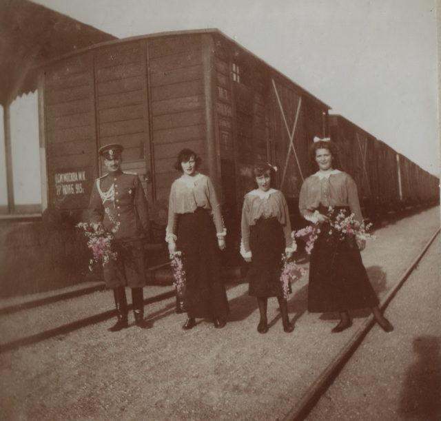 Grand Princess Maria Nikolaevna, Anastasia Nikolaevna, Tatiana Nikolayevna.