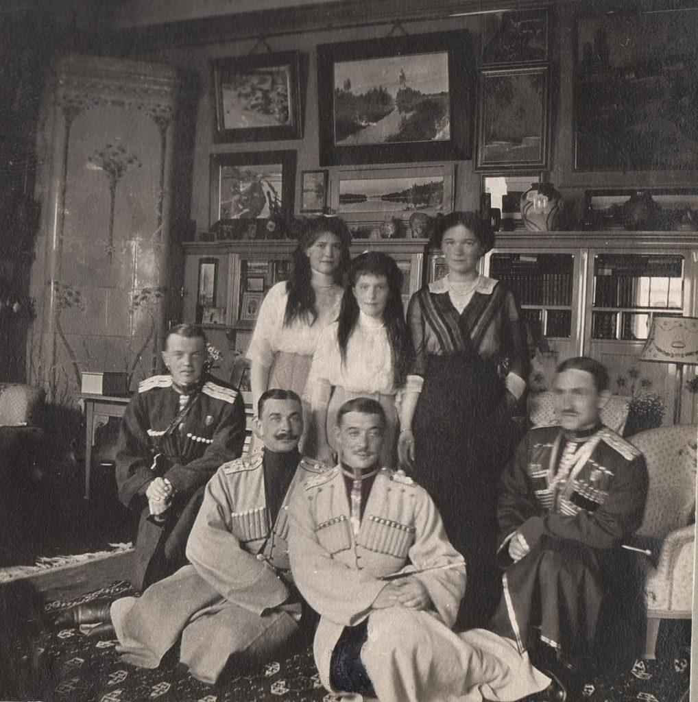 Grand Princesses Olga Nikolaevna, Anastasia Nikolaevna, Maria Nikolaevna.