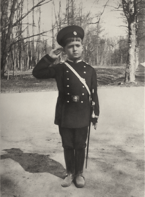 Heir to the Russian throne His Imperial Highness Tsesarevich Alexey.