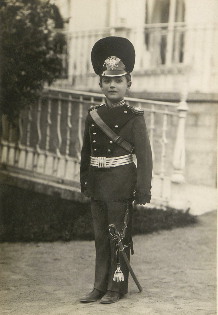 His Imperial Highness The heir to the Russian throne Tsesarevich Alexei Nikolaevich.