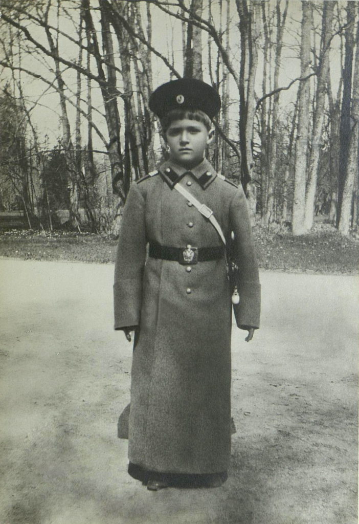 His Imperial Highness The heir to the Russian throne Tsesarevich Alexey Nikolaevich.