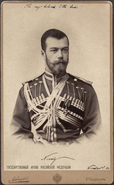 His Imperial Majesty the Emperor Nicholas Alexandrovich (Nicholas II).