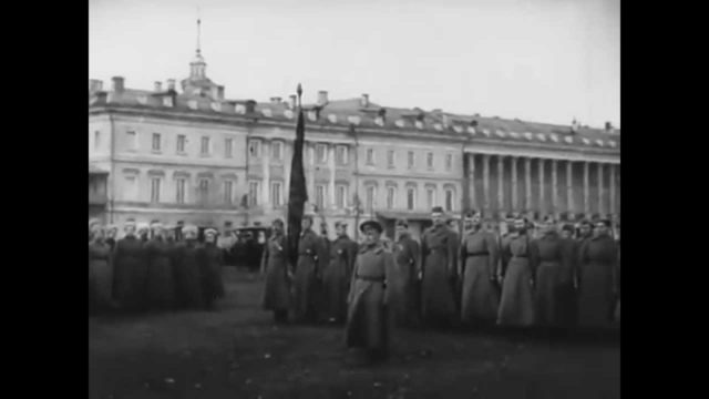 Moscow. Lefortovo. First Cadet Corps in 1918. Alekseevskoye Military College.