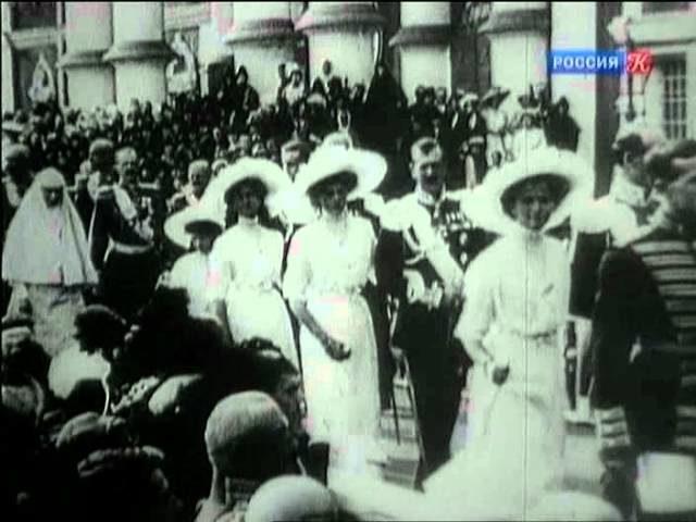 Nicholas II newsreel