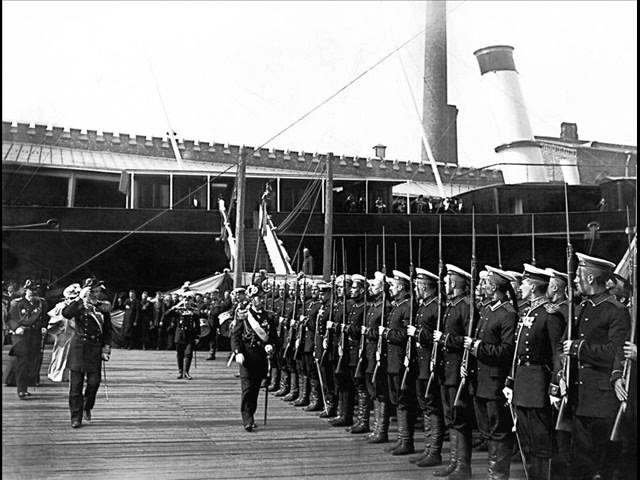 Official march of Imperial Russian Navy