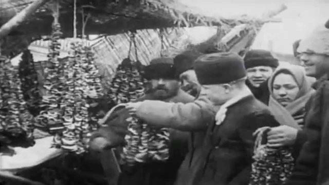 Okhotny Ryad. 1908. Newsreel.