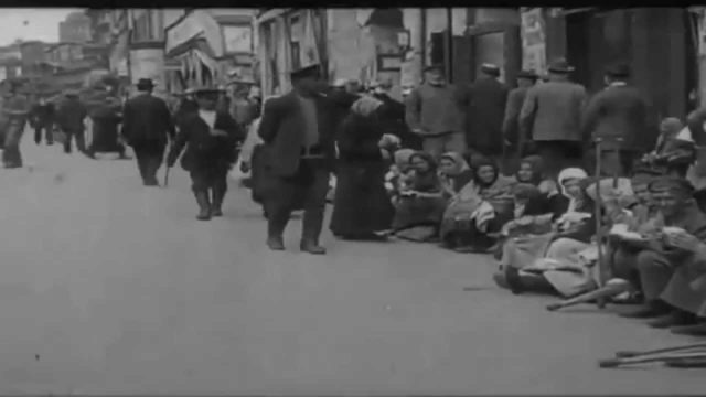 Petrovka in the early 20th century. A newsreel of 1918.