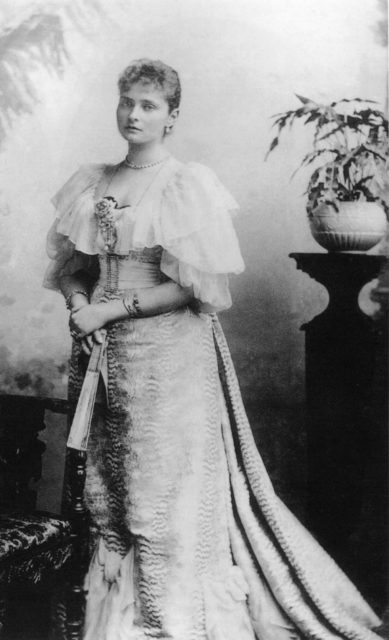 Princess Alix of Hesse.