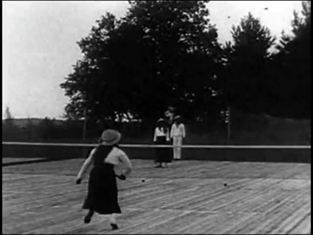 Romanovs. Lawn tennis.