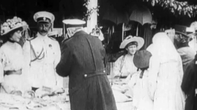 Romanovs. The White Flower Day in Livadia (Yalta)