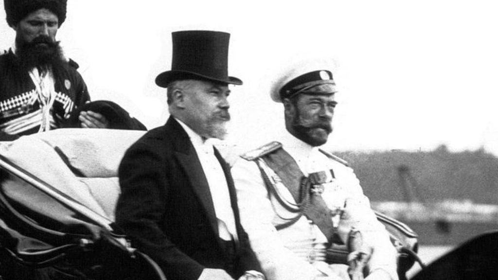 Romanovs. Tsar Nicholas II & Raymond Poincaré