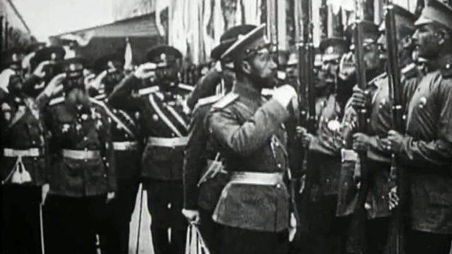 Romanovs. Tsar Nicholas II & The Russian Army