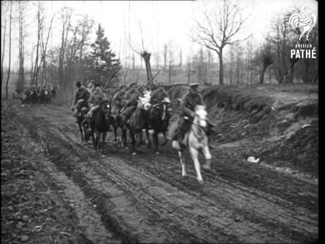Russian Army Cossack Unit Near Prezemysl (1915)