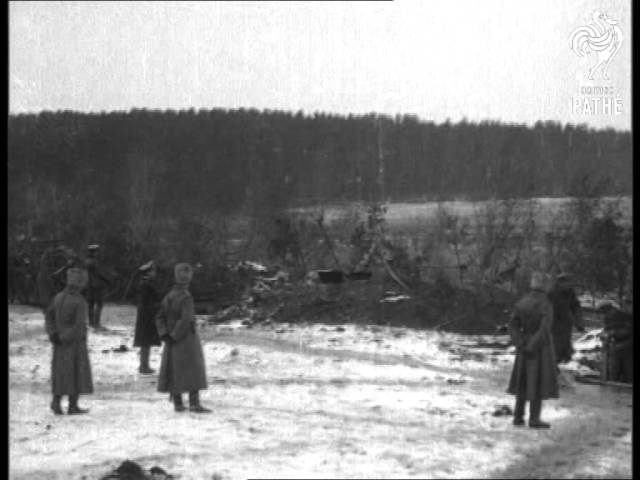 Russian Artillery Bombarding Przemysl Aka Bombarding Przemysl (1914-1918)