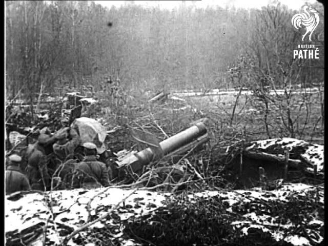 Russian Artillery In Action  AKA Russian Troops At Przemysl (1915)