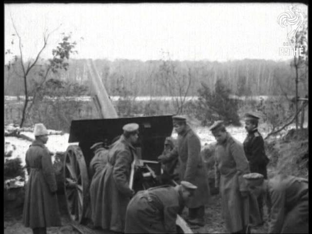 Russian Field Gun Firing (1914-1916)