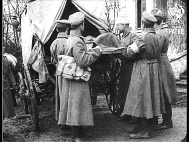 Russian Hospital  AKA Russian Artillery In Action (1915)
