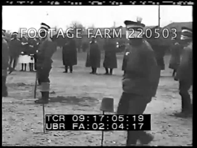 Russian Police Dog Show; Tsar Nicholas; Targa-Florio 220503-04 | Footage Farm