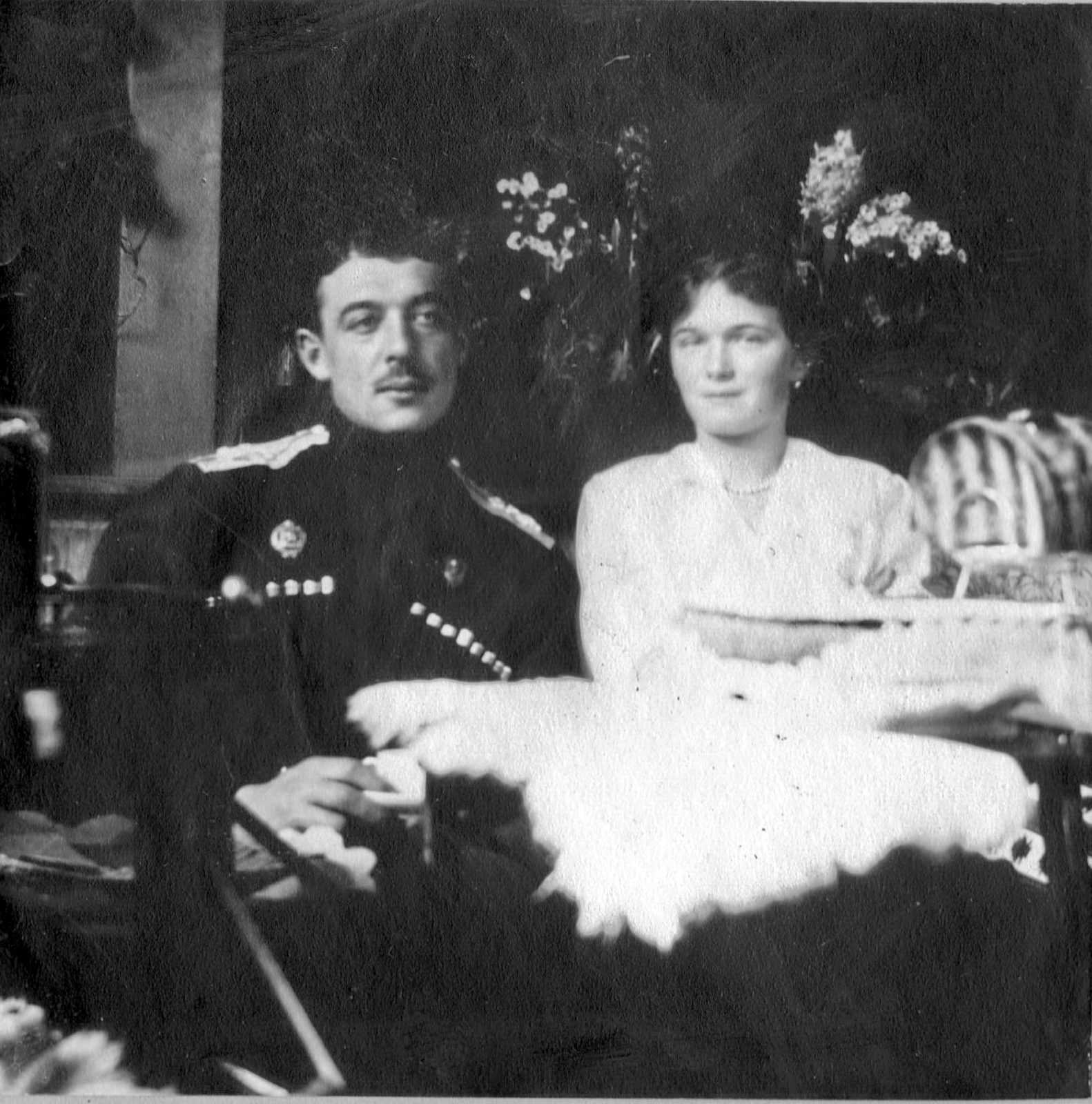 The daughter of Emperor Nicholas II Grand Princess Olga. The Alexander Palace.